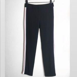ANTHROPOLOGIE | BELLE VERE Racer Stripe Crop Pants